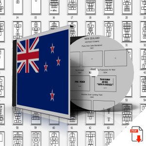 NEW ZEALAND STAMP ALBUM PAGES 1855-2011 (524 PDF digital pages)