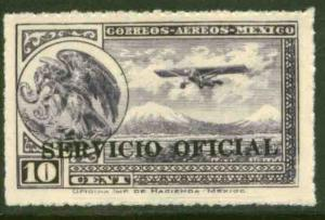 MEXICO CO22, 10¢ Air Official. MINT, NH. VF.