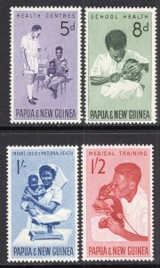 Papua New Guinea MNH 184-7 Health & Medicine Services 1964
