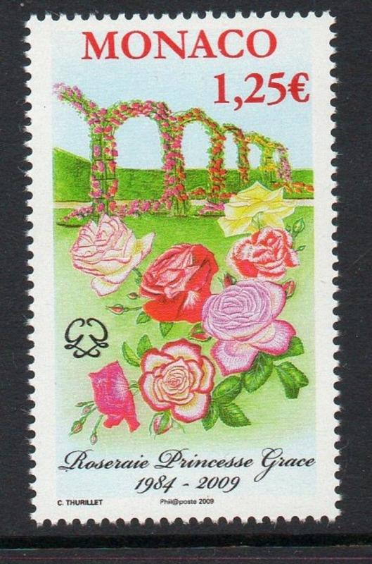 Monaco 2009 Princess Grace's Rose Garden VF MNH (2525)