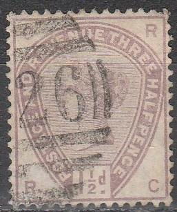 Great Britain #99 F-VF Used CV $42.50 (A2654)