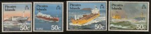 PITCAIRN ISLANDS SG273/6 1985 SHIPS MNH