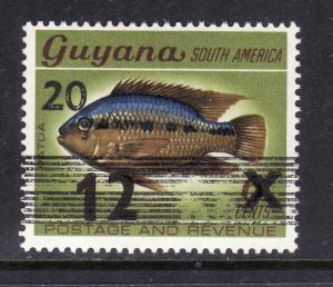 Guyana-Scott#994a-unused NH-Fish-Marine Life-198