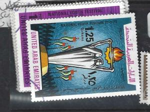 UNITED ARAB EMIRATES  (P1306B)   SG 13-4   VFU