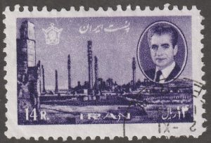 Persian/Iran stamp, Scott# 1383, used, single stamp #1383LC