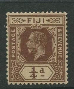 Fiji - Scott 79 - KGV - Definitive - 1912 - MH - Single 1/4d Stamp