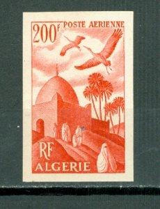 ALGERIA AIR IMPERF. C10...MINT VERY LIGHT H..