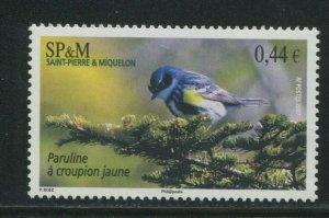 Saint-Pierre & Miquelon 2007 Sc 840 Birds Warbler