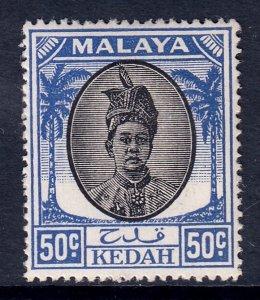 Malaya (Kedah) - Scott #78 - MH - SCV $4.00