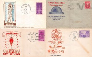 Lot of 15 Early U.S. Assorted Covers & Postcards #139272 X