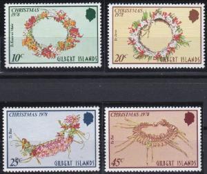 Gilbert Islands 317-320 MNH (1978)