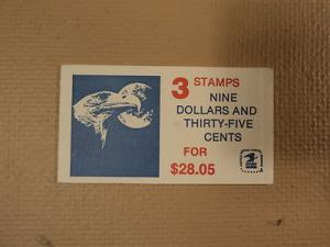 USPS Scott 1909 $9.35 Book Of 2 Eagle Moon Stamps Mint Bo...