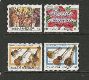 Trinidad & Tobago 1984 Parang Festival UM/MNH SG 669/72