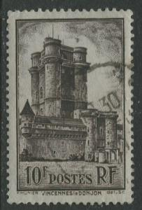 France - Scott 346 - General Issue -1938 - FU -Single 10fr Stamp