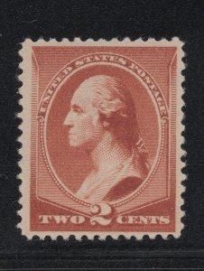 US Stamp Scott #210 Mint NO GUM SCV $17