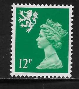 Great Britain Scotland SMH19 12p Machin MNH