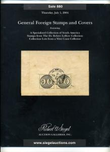 Siegel Foreign Stamp sale includes rarities