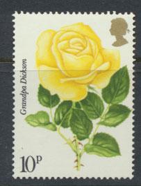 Great Britain SG 1007  MUH Roses