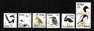 Ireland-Sc#1076-81-unused NH-Birds-1997-