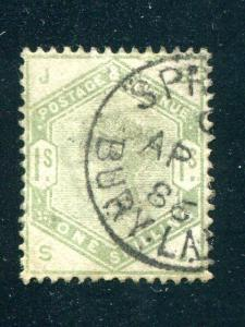 Great Britain #107  Used VF CDS   - Lakeshore Philatelics