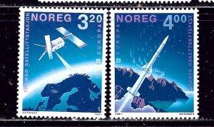 Norway 989-90 MNH 1991 Europa