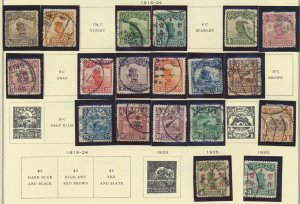 China Stamp Scott #202//289, Used, 20 Stamps, Unidentified/Unpicked, 1913-30 ...
