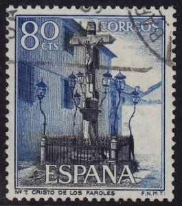 Spain - 1964 - Scott #1204 - used - Christ of the Lanterns Cordoba