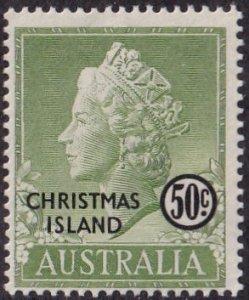 Christmas Island #9 Mint