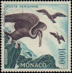 1955-1957 Monaco #C44, Incomplete High Value, Used