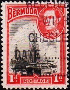 Bermuda. 1938  1d  S.G.110 Fine Used