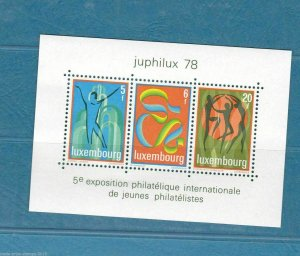 LUXEMBOURG UNMOUNTED MINT BLOCKS AND MINI SHEET  . REF R450