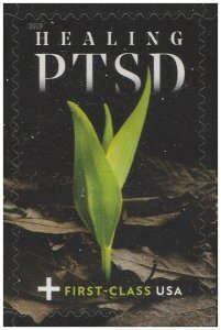 SCOTT B7-HEALING  PTSD $0.65 SINGLE STAMP, MNH