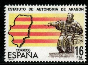 SPAIN SG2760 1984 AUTONOMY OF ARAGON MNH