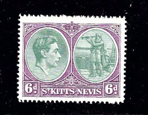 St Kitts-Nevis 85 MHH From 1938-48 set has hinge remnant