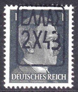 GERMANY 506 ZANTE (GREECE) OVERPRINT OG NH U/M VF BEAUTIFUL GUM