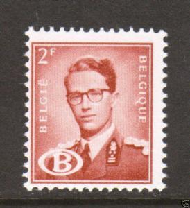 Belgium Sc O57 MNH. 1954 2f King Baudouin F-VF 1;0