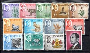 Lesotho 1968 Pictorial set mint MNH SG147-159 WS16940
