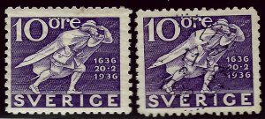 Sweden SC#249 Mint & Used F-VF....Bidding Bargain!!