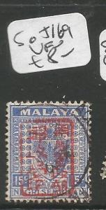 Malaya Jap Oc Negri Sembilan SG J169 VFU (2cxr)