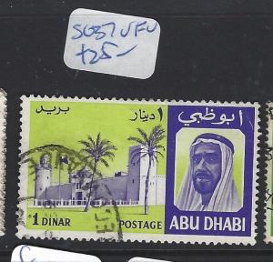 ABU DHABI  (P2202B)  1D    SG 37     VFU