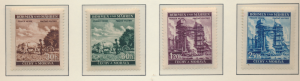 Bohemia and Moravia (Czechoslovakia) Stamps Scott #56 To 59, Mint Hinged/NH -...