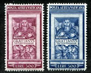 Vatican C20-C21 Mint Hinged air mail