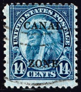 US STAMP Possessions CANAL ZONE #116 14c used stamp