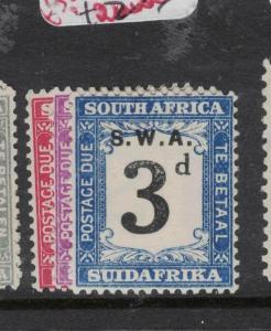 South West Africa SG D43-5 MOG (4dwd)
