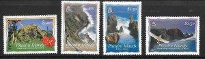 PITCAIRN ISLANDS SG664/7 2004 SCENIC VIEWS MNH