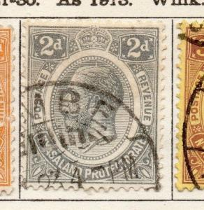 Nyasaland Protectorate 1921-30 Early Issue Fine Used 2d. 225301