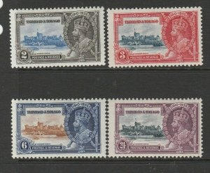 Trinidad & Tobago 1935 Silver Jubilee Fresh MM SG 239/42