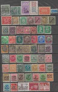 COLLECTION LOT # 46 GERMANY 120 STAMPS CLEARANCE