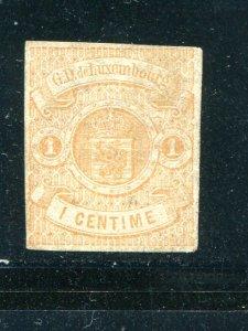 Luxembourg #4  Unused  F-VF- Lakeshore Philatelics