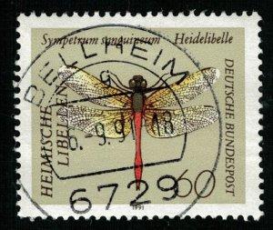 1991, Insects - Goldsmith, Deutsche Bundespost, 60 Pfg. (T-9609)